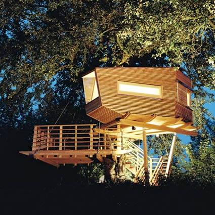 Vivere su un albero conlenostreidee - Costruire una casa sull albero per bambini ...